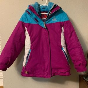 NWOT Two Piece Ski Coat Youth Size Small